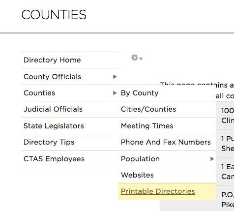 directory tips ctas